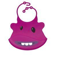 FAMA Audit factory funny design 100% food grade custom baby silicone bibs