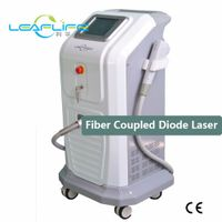 vertical 810nm fiber coupled diode laser machine for hair removal