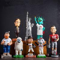 Resin cartoon celebrity mascot movie game sport custom figurines thumbnail image