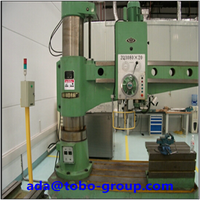 Radial drilling machine safety guards