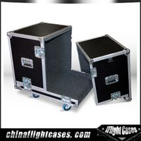 speaker flight cases aluminum hardwares with casters
