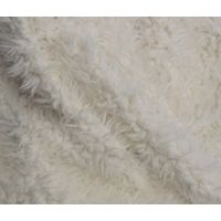 Imitation lama wool fabric made in South Korea