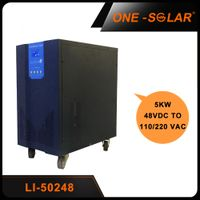 Off Grid UPS Inverter 5000w 48v with battery charger and 64-bits DSP thumbnail image