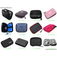 Hard shell eva molded Portable HDD carrying bags cases protectors