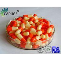 Empty Gelatin Capsule orange 2 4 small size
