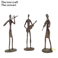 China sculpture or iron Crafts and Gifts or Handicrafts the concert made by iron