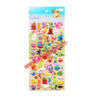 Cute Animal Zoo Children Puffy Stickers thumbnail image