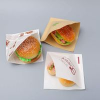 Carry out Bag Kraft Wholesale Cheap Paper Carrier food Bags