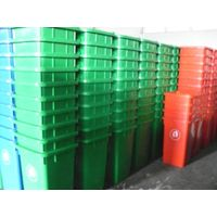 Plastic dustbin garbage can
