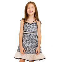 2013 girls dress,summer Spaghetti Strap dress with Vintage printing thumbnail image