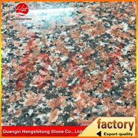 beautiful polished cenxi red granite tiles HST003