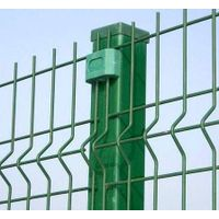 Wire mesh fence,galvanized iron wire or plastic coated iron wire.