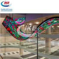 Flexible Curved LED Screen Display Led Round Circle Display