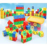 Children's House Building Block Plastic Assembly for Boys Enlightenment Kid Toys for Girls thumbnail image
