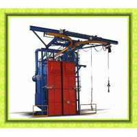 Double/Single Hook Airless Surface Castings Shotblast