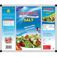 Refined Iodized Free Flow Salt