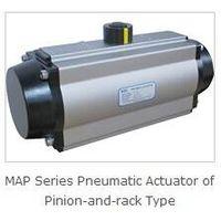 Rotary valve pneumatic actuator thumbnail image