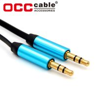 High Grade Custom Car Audio Video Aux Cable 3.5MM Jack Cord Male To Male thumbnail image
