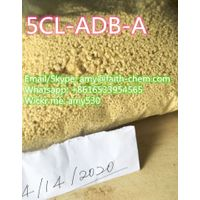 Strong cannibinoid 5cl-adb-a high quality research chemical 5C yellow powder(wickr: amy530)