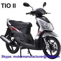TIO II Scooter JNEN Motor Popular Design 2016 Model Gasoline Scooter 100CC/125CC CDI/EFI EEC/EPA
