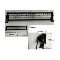 Led worklight, 180w, 10-30V DC aluminium 60pcs 3W light bar for jeep, SUV,ATV driving light  (Led wo thumbnail image