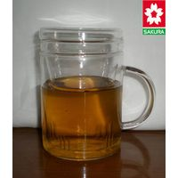 Glass tea cup with filter thumbnail image