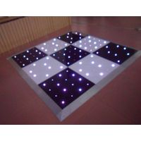 black and white portable twinkling star lite LED RGB dance floor thumbnail image