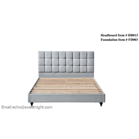 bedroom furniture modern brief bed pine wood bed