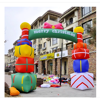 Inflatable Christmas Arch/ Inflatable Socks Arch/Inflatable candy arch