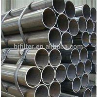 water and oil field carbon steel Black galvanized welded pipe steel pipe