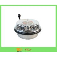16 inch hand driven clear flat-top small leaf trimmer