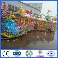 Electric elephant track train
