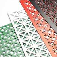 Round Hole Aluminum Perforated Mesh
