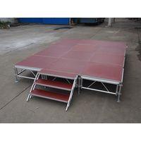 Wholesale Portable Light Weight Folding Stage Platform Aluminum Used Choral thumbnail image