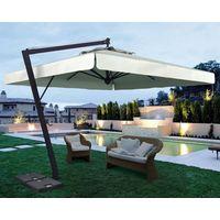 Aluminium Side Pole Garden Parasol