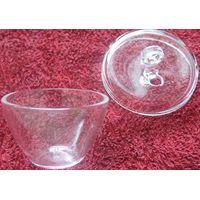 customized clear glass crucible quartz thumbnail image