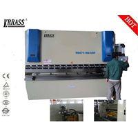 Krrass New product small hydraulic press brake for sale of wc67y 63t hydraulic press brake