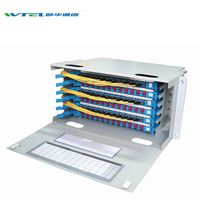 W-TEL Optical Fiber Distribution Frame 12F 24F 48F 96F 144F 256F ODF