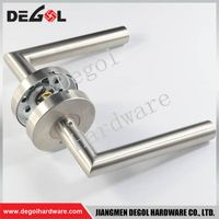 Chinese imports wholesale stainless steel tube french door handles and locks