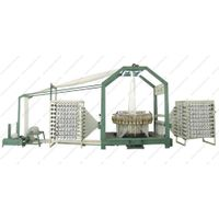 Small cam structure six shuttle circular loom