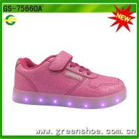 Hot selling popular led shoes with Rohs certificate