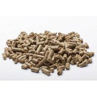 Wheat straw pellets horse bedding
