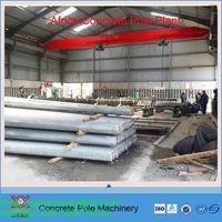 psc concrete electric pole machine
