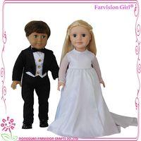 2017 New design funny wedding gift loving baby couple dolls thumbnail image