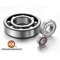 China 6000,6200,6300,6400,6800,6900,16000,62200,62300 Series Deep Groove Ball Bearings