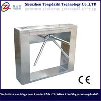rfid tripod turnstile for entrance access control reader card