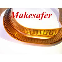High technology PI kapton film , polyimide thermo foil heater