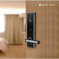 Smart fingerprint door lock BABA-8201 Swipe Card electronicOpening Keyless Entry Handle Door Lock thumbnail image