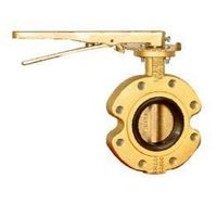 VALVE,BUTTERFLY VALVE,WAFER TYPE,Available Lining NBR/EPDM/CSM/FPM or U-TYPE Seat,two-way metal hard thumbnail image