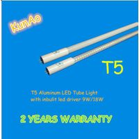 T5 LED tube with inbuilt driver 9W,18W